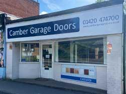 Camber Garage Doors Showroom